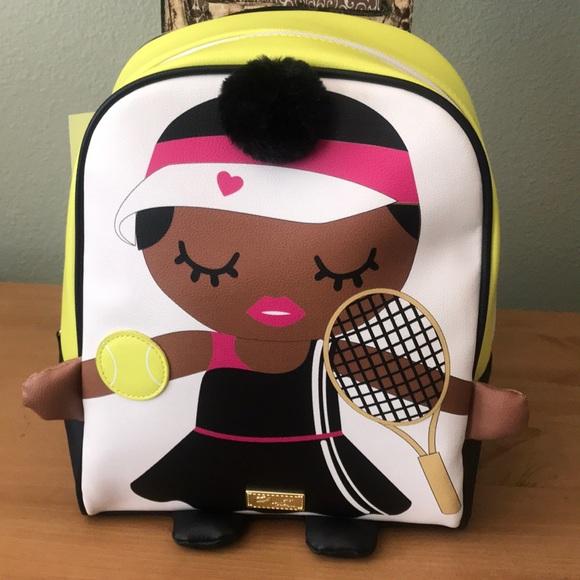 Betsey Johnson Handbags - Betsey Johnson Backpack, 🎾 Tennis Player